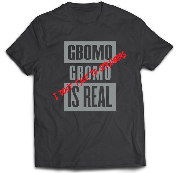 Gbomo Gbomo is a Yoruba term used in Nigeria to refer to a kidnapper. It was also a term used by parents to scare their kids to do the right thing. This is a great shirt to show your Nigeria pride and show that you were definitely brought up in a Nigerian household