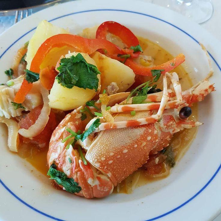 Fish Stew  #caldeirada #caldeiradadepeixe #fishstew #crayfish #foodporn #foodgasm #foodstagram #instafood #yummy #portinhodaarrabida #lisboa #lisbon #lisbonne #lissabon #lisbona #Лиссабон #里斯本 #リスボン #instalike #instalisboa #instalisbon #instatravel #instacool #instagood #welovelisbon #visitlisboa #visitlisbon #visitportugal #portugal #walkinginlisbon