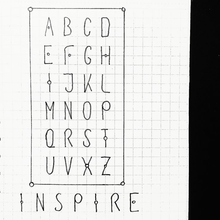 One more new font for headers in my bullet journal