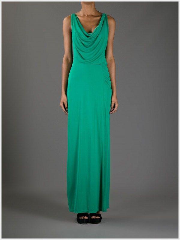 15 Luxury Green Cowl Neck Dress