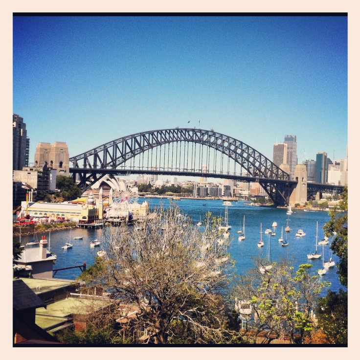 View from McMahons Point- Sydney