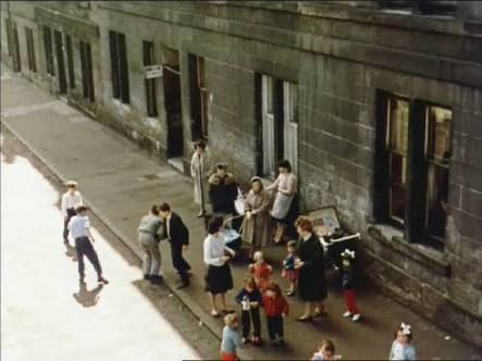 Glasgow street weans - This could be any street in Glasgow in the 50's/60's