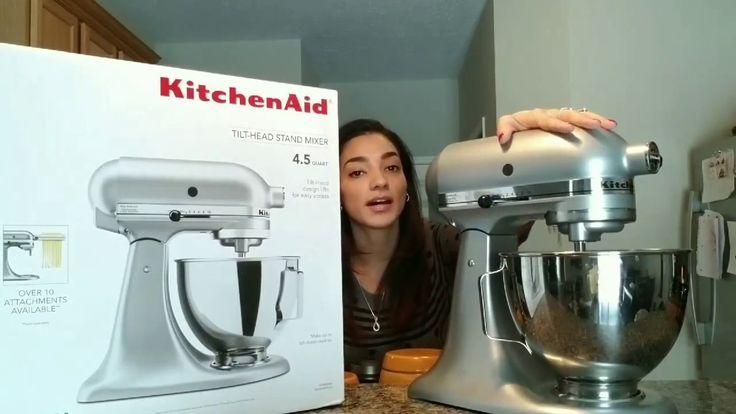 KitchenAid Tilt Head Stand Mixer Review!!!