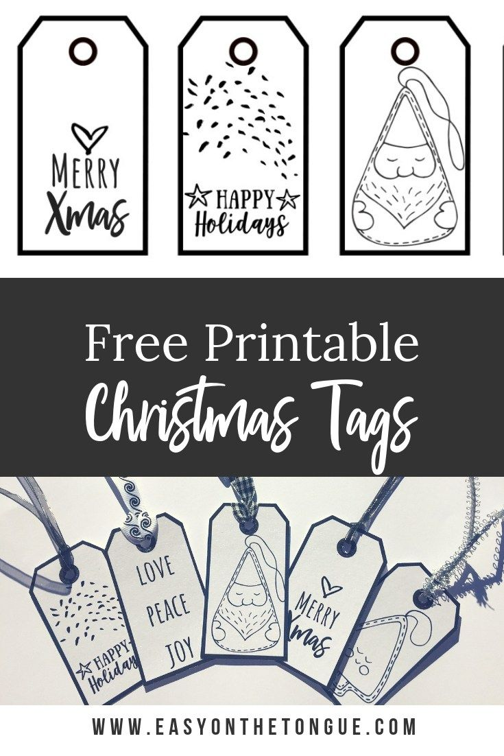 Free Black And White Christmas Gift Tags For Your To Download And Print Christmas Gift Tags Printable Free Christmas Tags Printable Free Christmas Printables