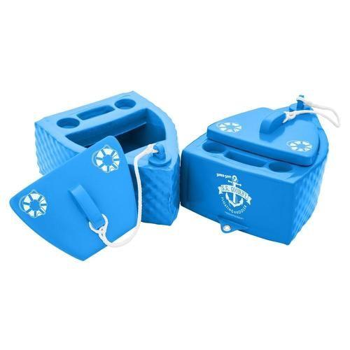 TRC Recreation Super-Soft Floating Cooler - Bahama Blue