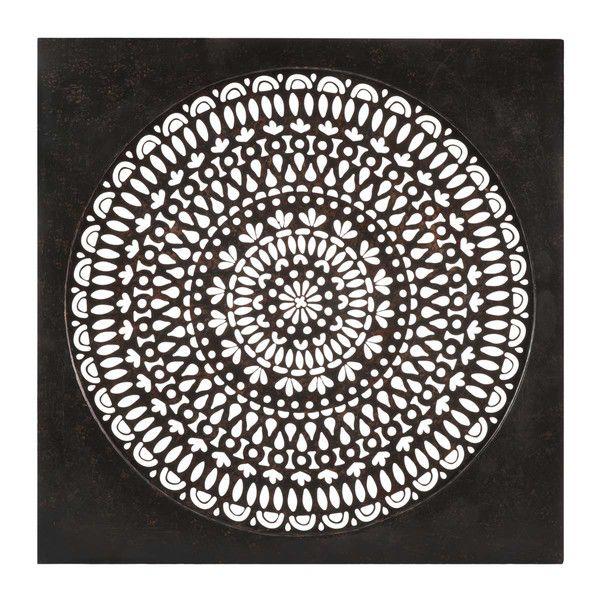 Popular Wanddeko aus Metall in Lochoptik