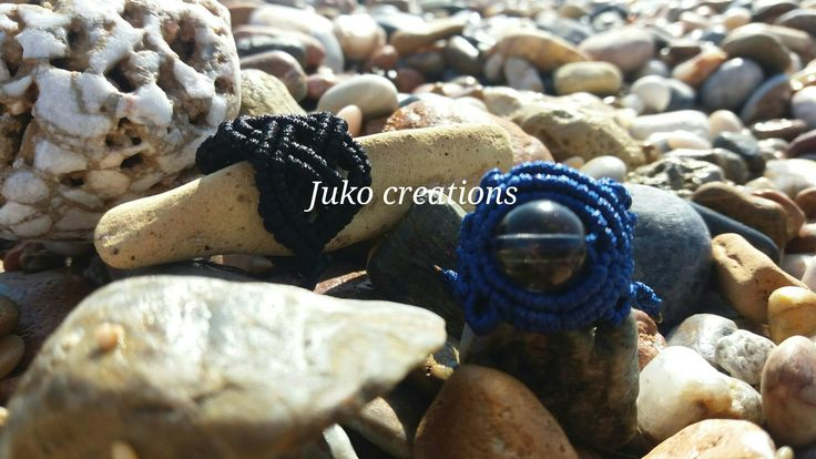 Rings macrame by Juko creations