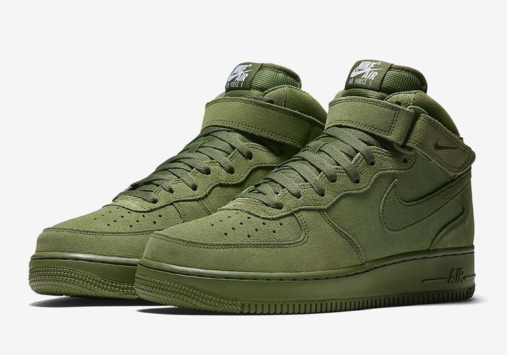 """#sneakers #news  Nike Air Force 1 Mid """"Olive"""""""