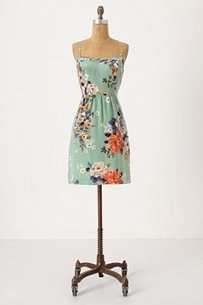Verdant Slip Dress