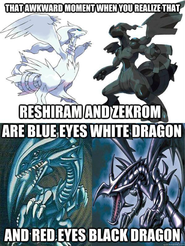 Pokemon Yugioh Dragons memes   quickmeme