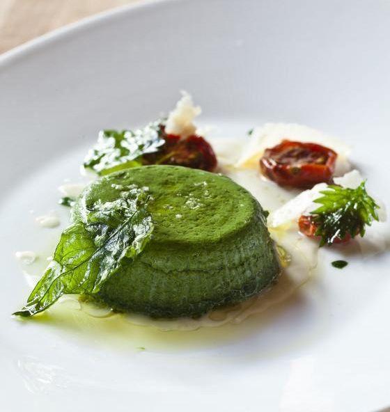 Spinach marjoram and ricotta  Sformato from Cotogna | 7x7