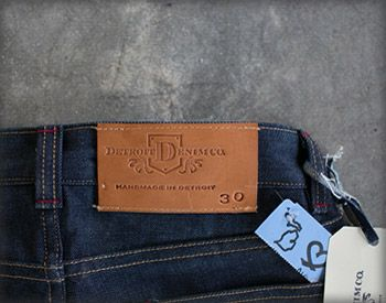 "Home - Detroit Denim Co.   ...""And here we are in Detroit, in a small factory hand-making jeans. Sweating the details."""