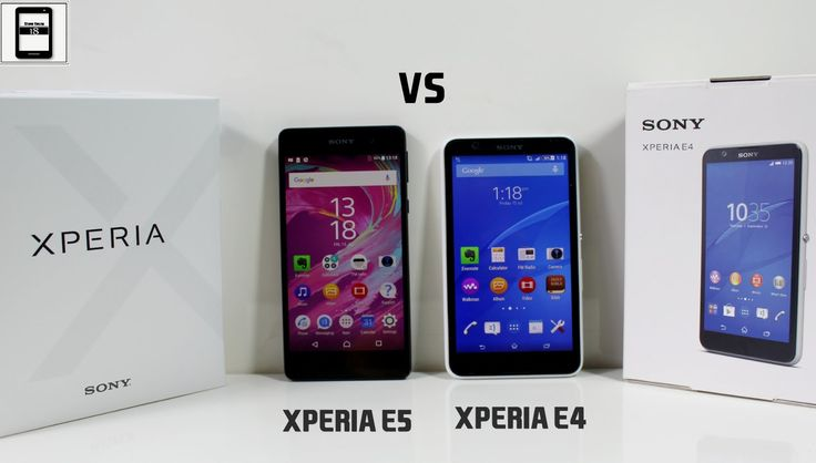 Sony Xperia E5 VS E4 Review