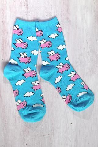 Lentävät possut | Naisten sukat