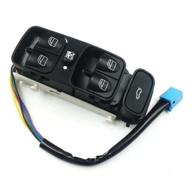 A2038200110 A2098203410 New Power Control Window Switch Button For Mercedes C Class W203 C180 C200 C220 2038210679 A2038210679 Re Mercedes Clk Mercedes C Class