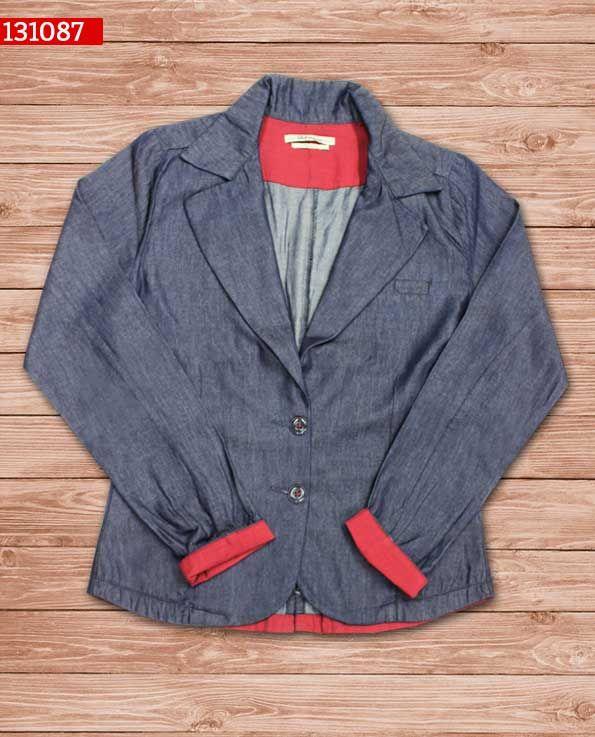 blazer-dama-color indigo-ref-131087- #fashion #women #ropademoda