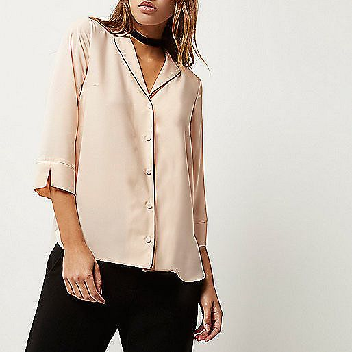 Chemise rose poudré - offres de saison - promos - Femme