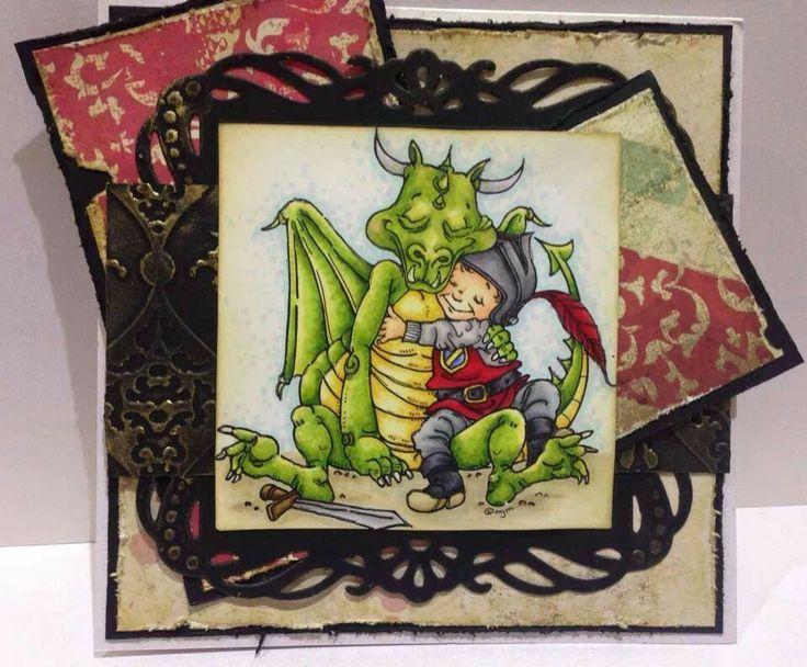 Een knuffel voor een draakje