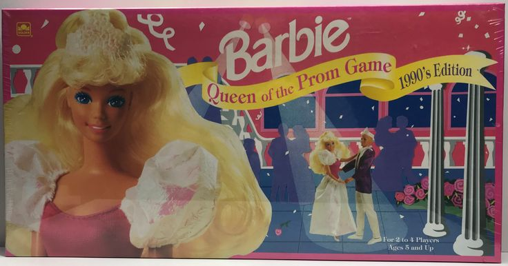 We always have the hottest Vintage Toys at The Angry Spider.  Now available: TAS038244 - 1991 ...  Check it out here: http://theangryspider.com/products/tas038244-1991-mattel-barbie-queen-of-the-prom-board-game?utm_campaign=social_autopilot&utm_source=pin&utm_medium=pin