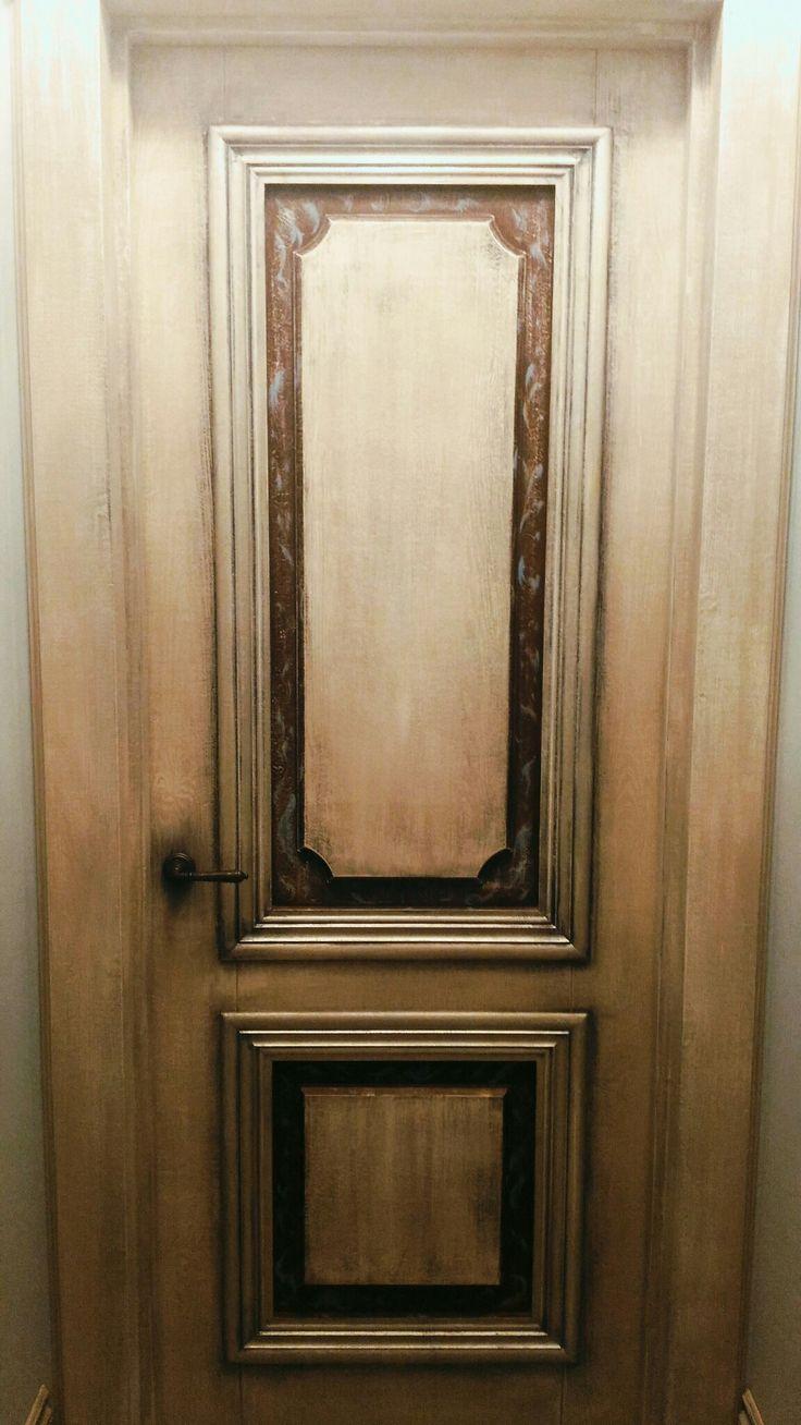 Винтажные двери в лофт
