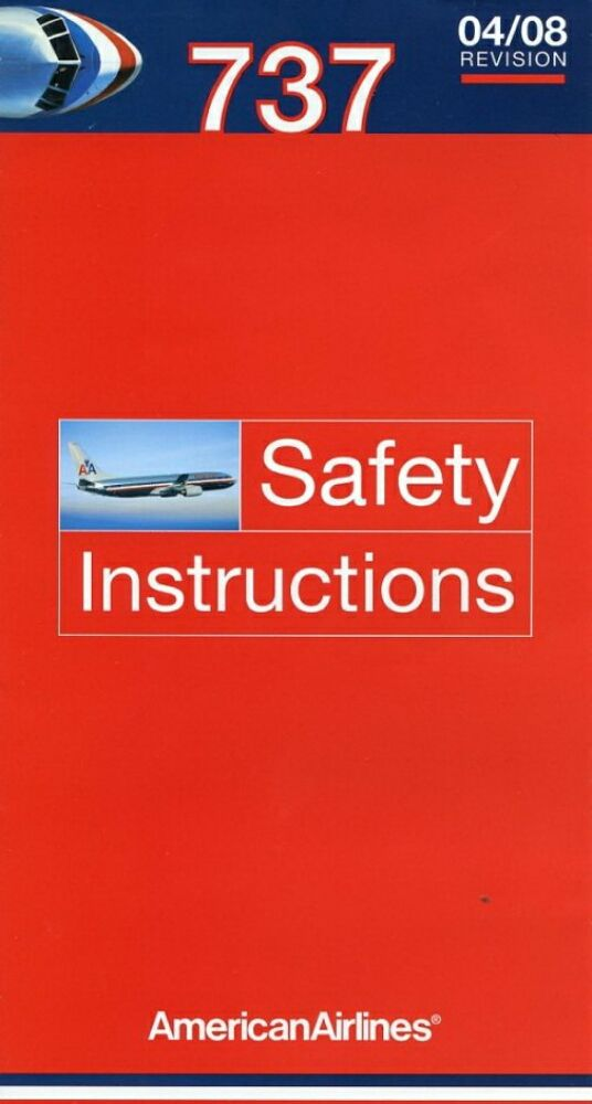 46 Best Images About Airline Safety Cards On Pinterest