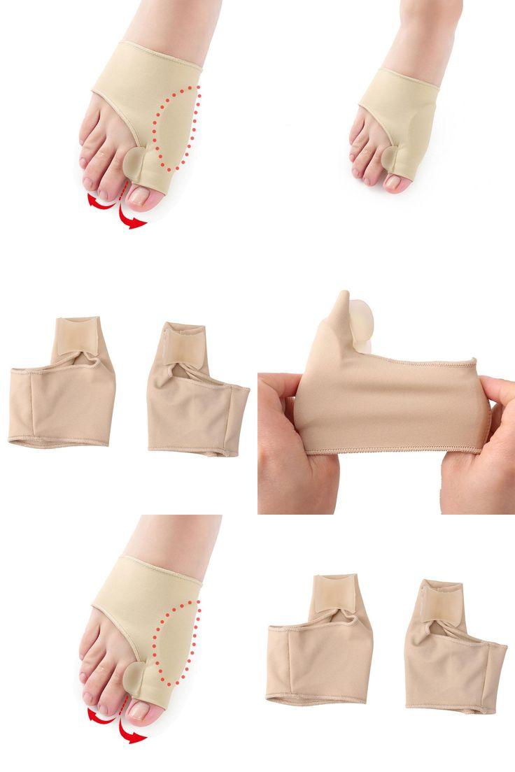 [Visit to Buy] Hallux Valgus Brace Big Toe Orthopedic Correction Socks Toes Separator Feet Care Bone Thumb Adjuster Correction Pedicure Socks #Advertisement