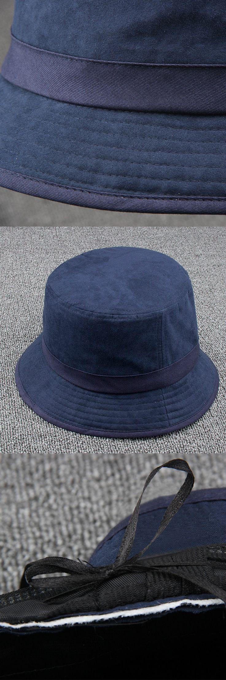 LeucosTicte 2017 New Men's Bucket Hats Wide Brim Cotton Hat UV Protection Cap Men Bob sun Protection Fisherman Hats For Men