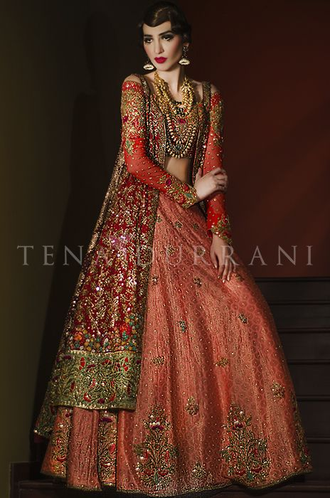 Cadenza (B46) Book an Appointment: www.tenadurrani.com/cadenza-2 For queries, orders and appointments inbox us, email at info@tenadurrani.com or contact +92 321 232 4600. #tenadurrani #designerwear #shopnow #Omorose #FPW15 #bridals #weddings #pakistaniweddings #brides #weddingwear #Swarovski #crystals