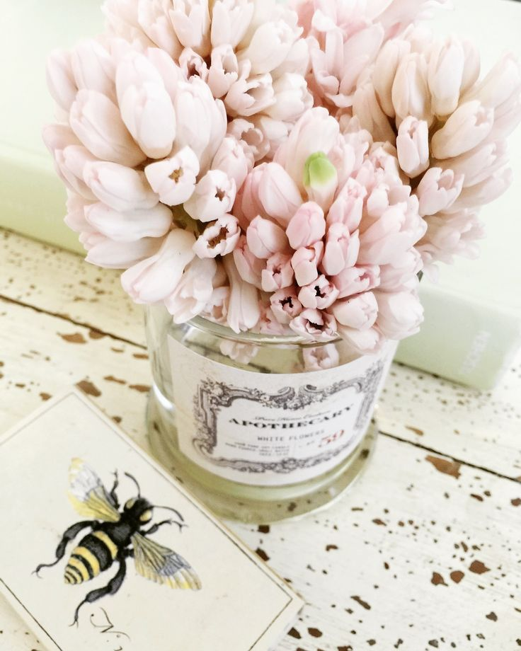 Repurposed candle jars by Pure Home Couture