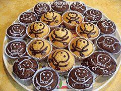 leckere totenkopf muffins für wilde piraten                                                                                                                                                     Mehr