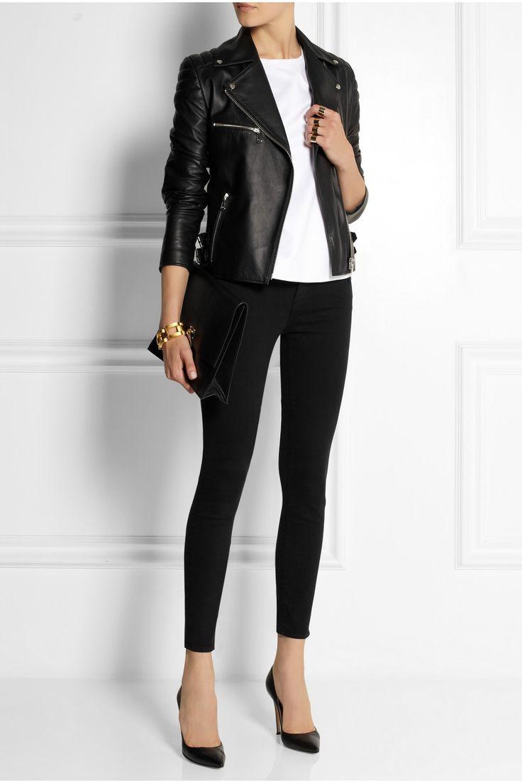 Frame Denim   Le Skinny de Jeanne mid-rise jeans   NET-A-PORTER.COM