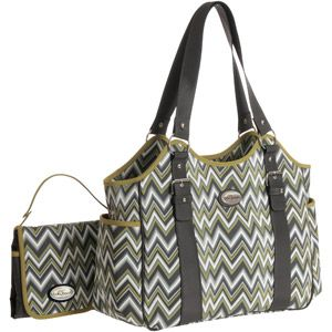 designer shoulder bags for women Baby Boom Diaper Bag ZigZag Tote