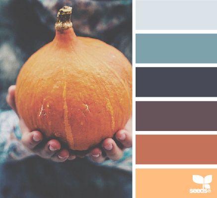 autumn hues: