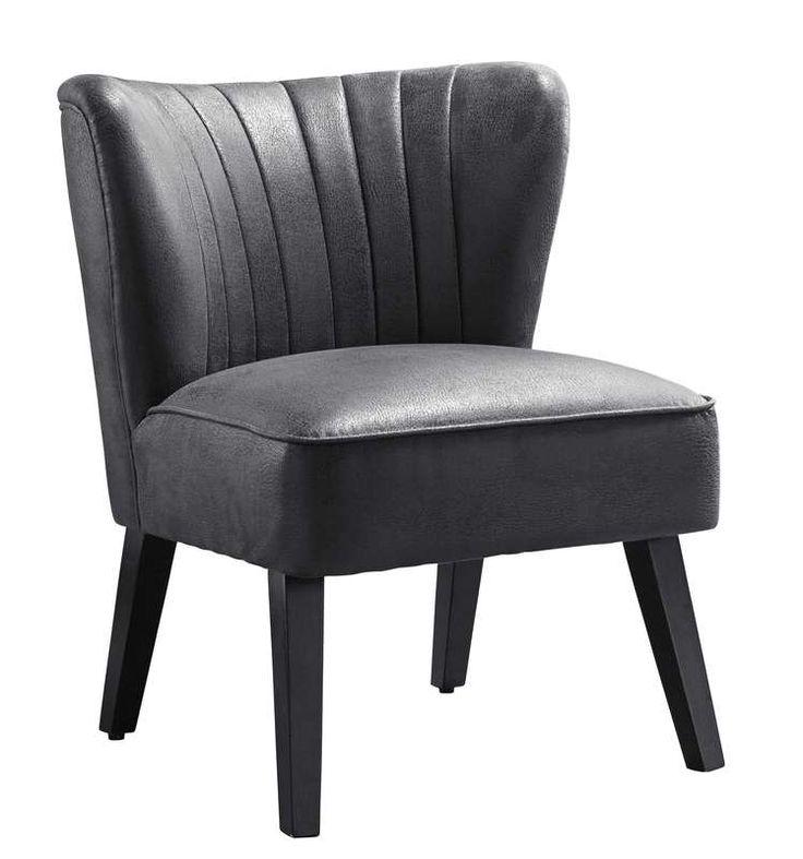 """Model Zanotti is een stoere fauteuil in retro-stijl waardoor deze  uitstekend in zowel een lifestyle als modern interieur past. Fauteuil  Zanotti  is leverbaar in de stoere stoffen Vintage Brown en Vintage  Grey en in """"old look"""" Black en """"old look"""" Cognac lederlook.  Standaard is deze fauteuil voorzien van verticaal sierstiksel in  de rugleuning."""
