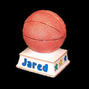 73 best this little piggy images on pinterest piggy banks hand personalized basketball piggy bank from neat stuff gifts negle Choice Image