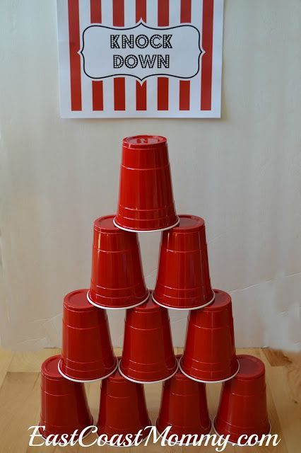 Carnival Games and Activities-- This has so many games that are easy to make (with instructions)