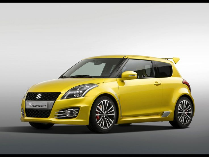 2011 Suzuki Swift S-Concept - Front And Side