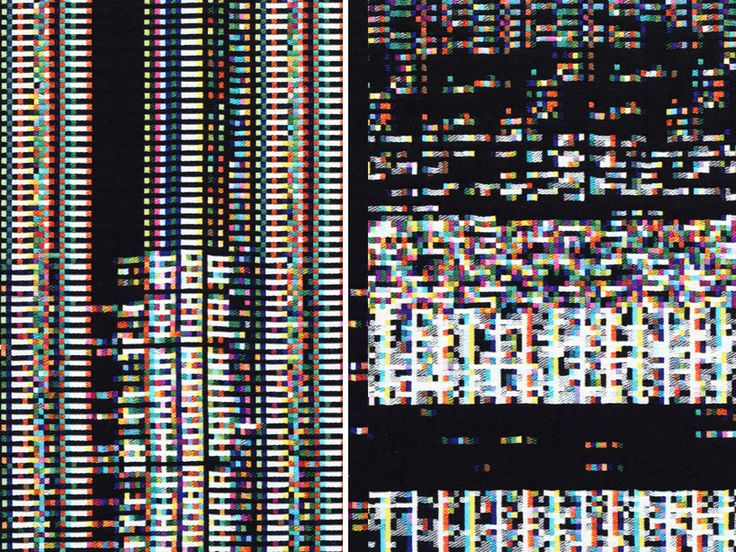 Fragmented Memory est le fruit de la collaboration de l'artiste multimedia américain Phillip Stearns et du Textillab du Textielmuseum de Tilburg aux Pays-Bas.
