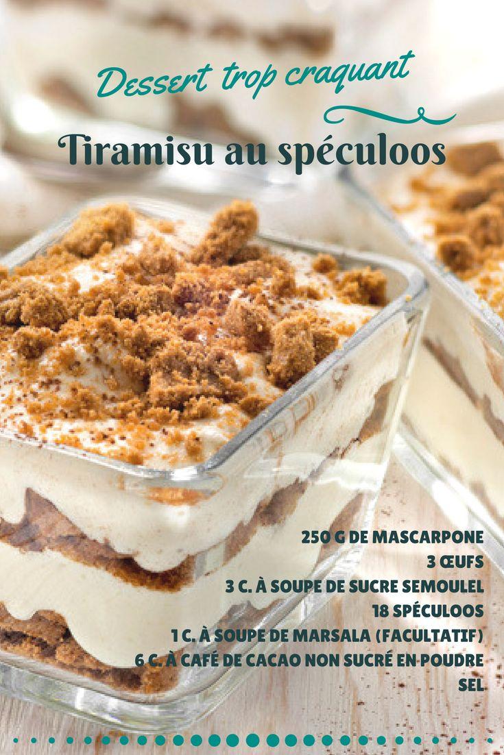 Une variante encore plus gourmande du fameux tiramisu !