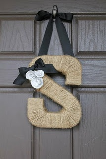 I still need ribbon to hang it, but it's super cute.  Good idea for a gift.