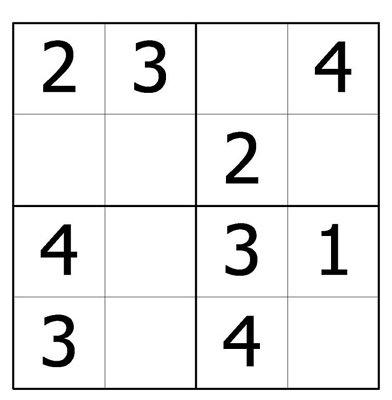(2014-06) 4 * 4 felter, tal