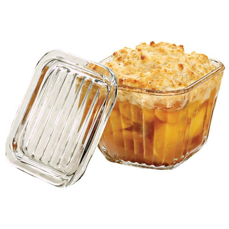 Cute Schaal liter L Description Zo van de diepvriezer in de magnetron of oven en meteen op tafel Mooie glazen schalen met deksel en met extra dikke