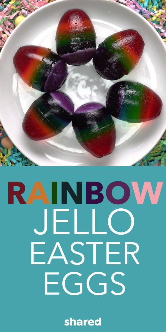 Painting Easter eggs has always been a family favorite. Only thing is you could never eat them after! Until now! Instead of painting your traditional Easter egg, how about making a super colorful egg and then eating it! Layering your favorite jello flavors into an egg shape will change the way you celebrate Easter forever!