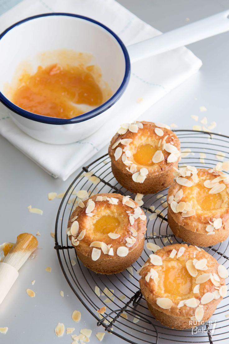 Recept: Abrikozenkoeken / Recipe: Mini abricot tarts