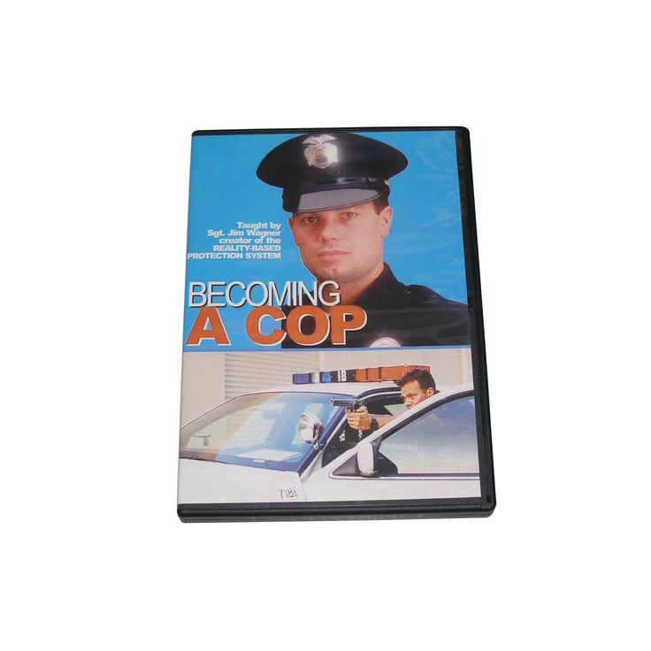 Becoming a Cop Training DVD Police Swat Law Enforcement Testing Prep Course