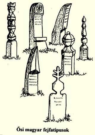 kopjafa szimbólumok jelentése - A kopjafa, a fejfa egyedi szimbólumrendszer, amely az értő szemnek sok információval szolgál.