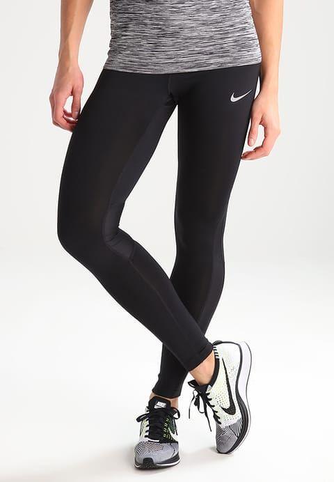 Sportkleding Nike Performance RACER - Tights - black/black/silver Zwart: € 49,95 Bij Zalando (op 27-3-17). Gratis bezorging & retournering, snelle levering en veilig betalen!