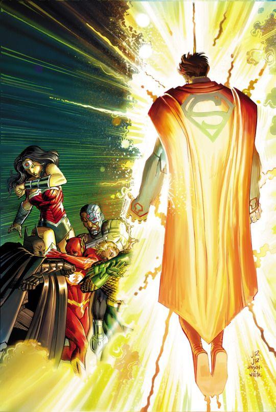 SUPERMAN #42 by JOHN ROMITA JR and KLAUS JANSON