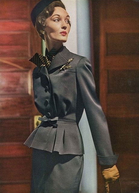 Vogue August 1949, by Horst P. Horst