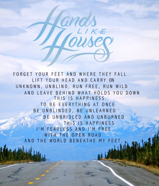 283 best Hands Like Houses images on Pinterest | Band quotes ...
